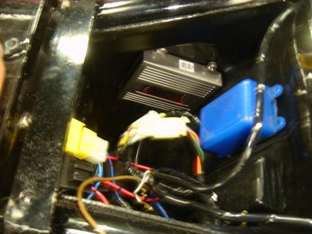 CB400SF 5 ライト4