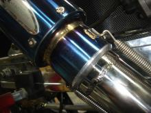 CB400SF 6 マフラー2