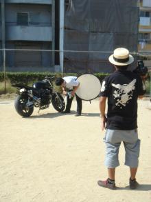 CB400SF撮影6