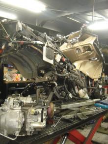 MF08 エンジン修理3