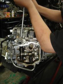 MF08 エンジン修理5