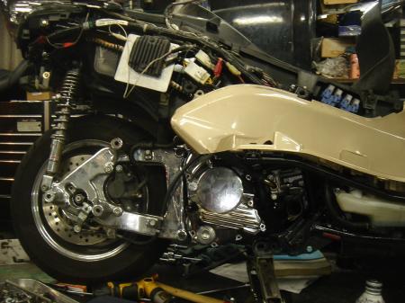 MF08 エンジン修理2-11