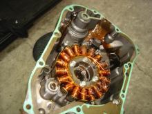 MF08 エンジン修理2-10
