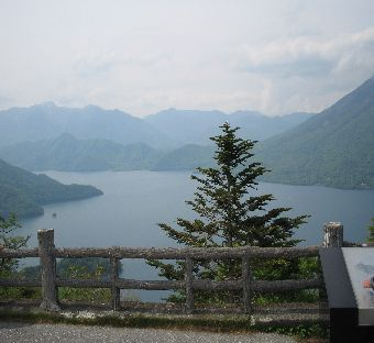 中禅寺湖の景色