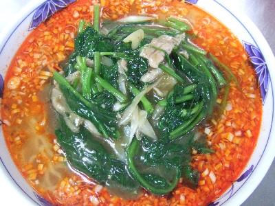 2009_0917賄いの酸辣麺