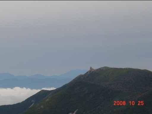 金峰山を臨む