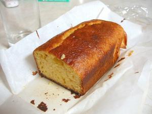パウンドケーキできあがり
