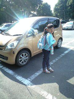 081017智光山実織駐車場