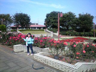 081017智光山実織薔薇庭園2