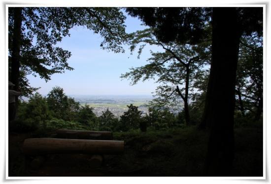 弘法山からの展望