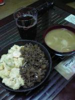 二色丼とお味噌汁