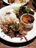 鶏そぼろと甘辛野菜のワンプレート
