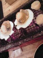 ホタテ貝と貝柱