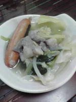 ホルモン鍋②