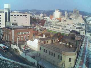 近江町市場再開発工事