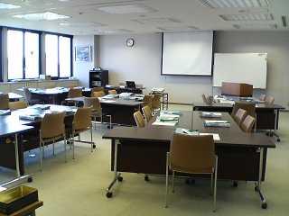 開講前の教室
