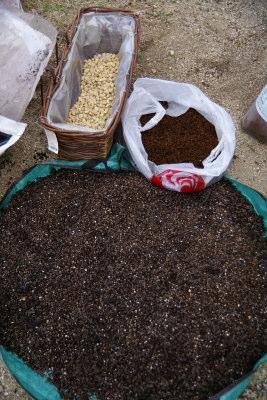 0411-5草炭粒状培養土牛糞赤玉土腐葉土