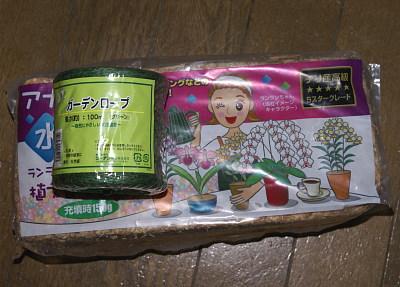 0410-6乾燥水ゴケ緑麻紐