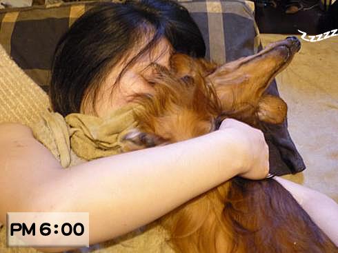 02_まちゅみ寝る