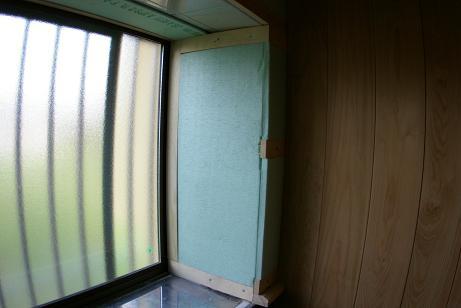 出窓断熱施工
