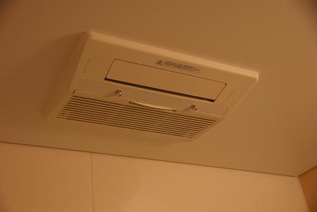 ミスト機能付温水式浴室暖房乾燥機!