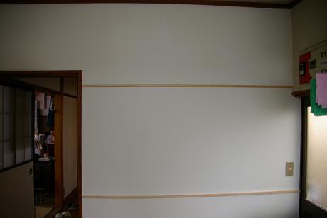 台所壁修理後!