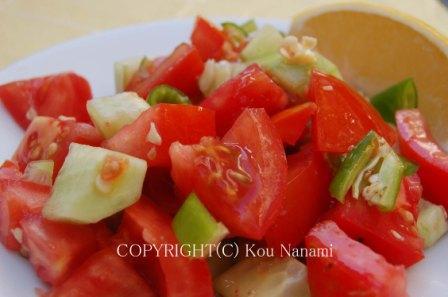 トルコのサラダ