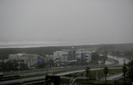 雨の九十九里1