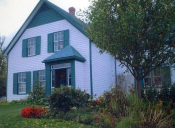 赤毛のアンの家のモデルとされた作者ルーシー・M・モンゴメリーのいとこの家(プリンスエドワード島)