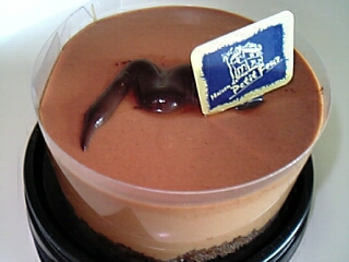 ショコラ・ダムール(ファミリーマート『Sweets+』&『ビッダーズ』サイト&『メゾン・ド・プティ・フール』西野之朗シェフ監修 270円(税込)207Kcal)