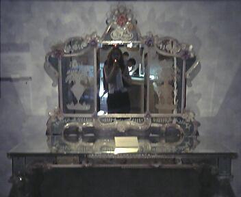 ヴェネチア三面装飾鏡(19世紀)@箱根ガラスの森