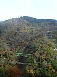 箱根登山鉄道・車窓からの眺め