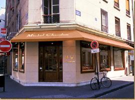 チョコレートの『ミッシェル・ショーダン』パリ本店