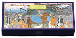 『霧笛楼』(横浜・元町)の生チョコレート「モトマチの石畳」(2パック18カット 税込1,260円)