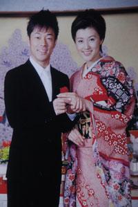 藤原紀香&陣内智則 結納(写真:ボンヌール写真室)