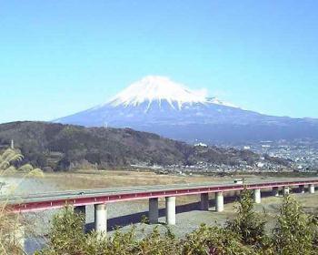 富士山@道の駅『富士川楽座』(富士川SA)