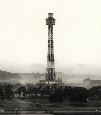完成当時(1961年)のマリンタワーの姿