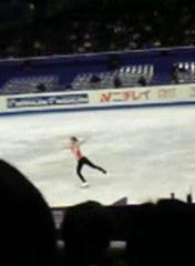 キム・ヨナ選手@世界フィギュアスケート選手権 2007 東京・公式練習