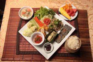 standard lao set menu