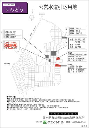 buroguりんどう新価格表H21.1