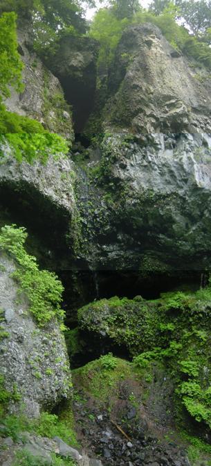 庚申山岩壁