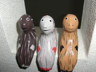 木彫りの置物
