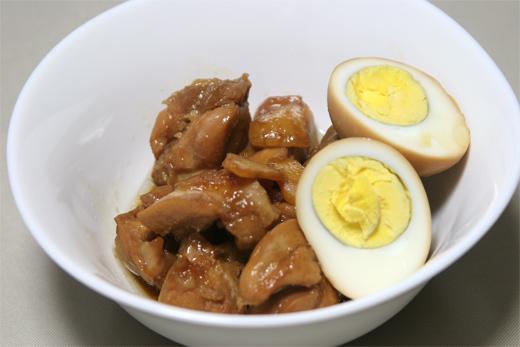 鶏肉と卵のさっぱり煮