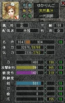力1480突破!