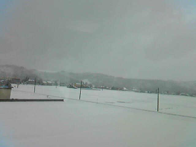 まんが日本昔話に出てきそうな雪景色だったそうな