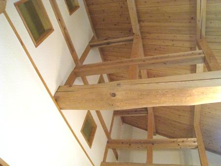 くまきち家 天井