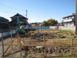 N様邸 基礎工事1 - コピー