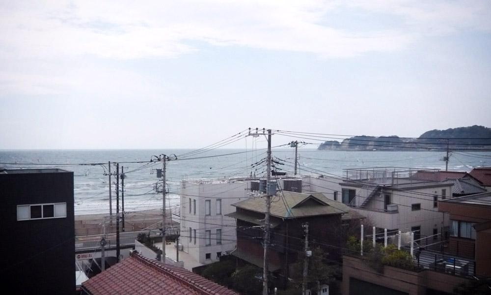 OSJ湘南クラブハウスから臨む由比ヶ浜