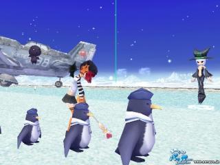 ペンギンさんと一緒