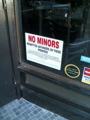 NOOOO!!! MINORS!!!!
